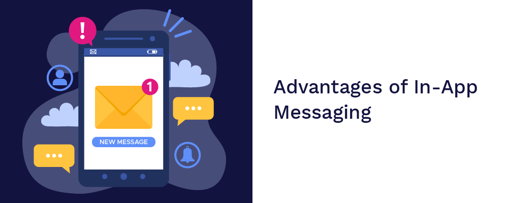 advantages of in-app messaging
