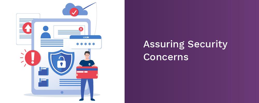 assuring security concerns