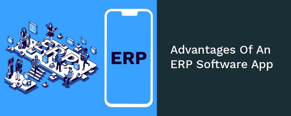 advantages of an erp software app