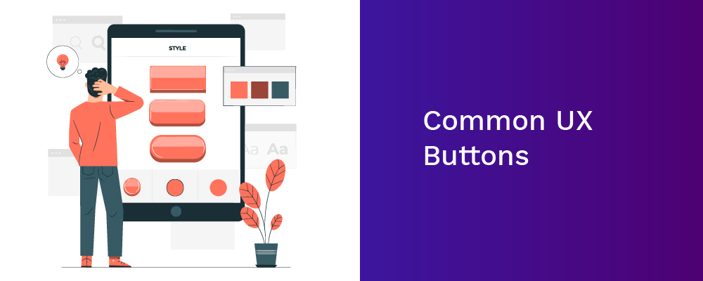 common ux buttons