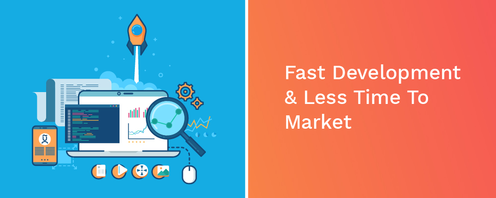 fast development and less time to market