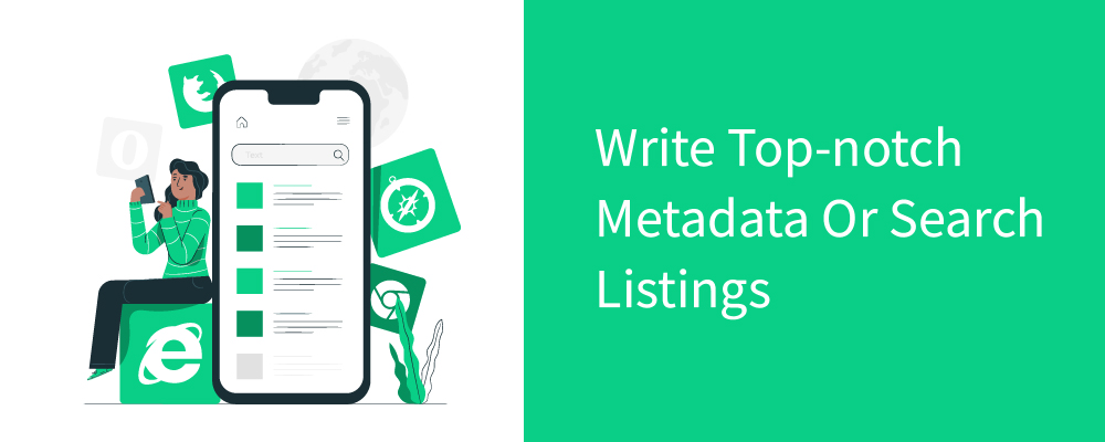 write top-notch metadata or search listings