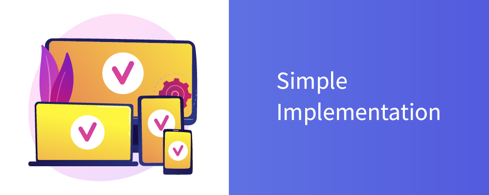 simple implementation