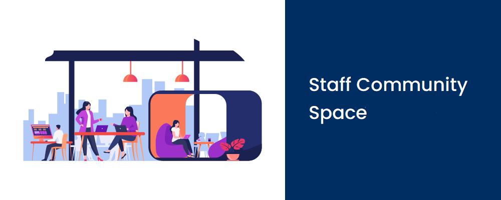 staff community space