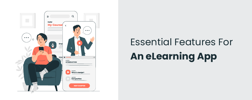 essential features for an elearning app