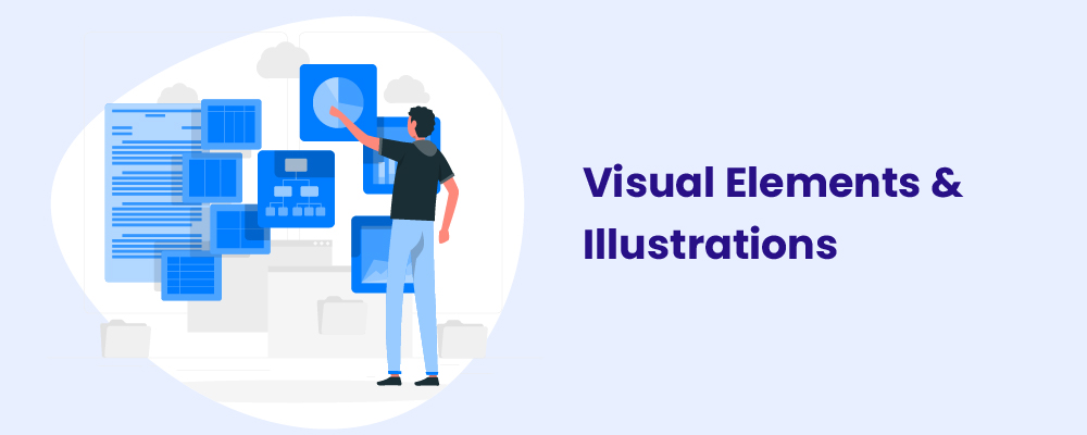 visual elements and illustrations