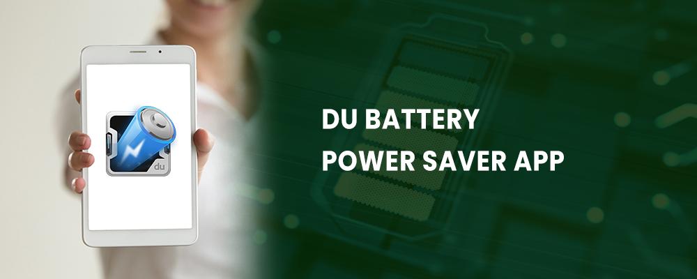 du battery power saver app