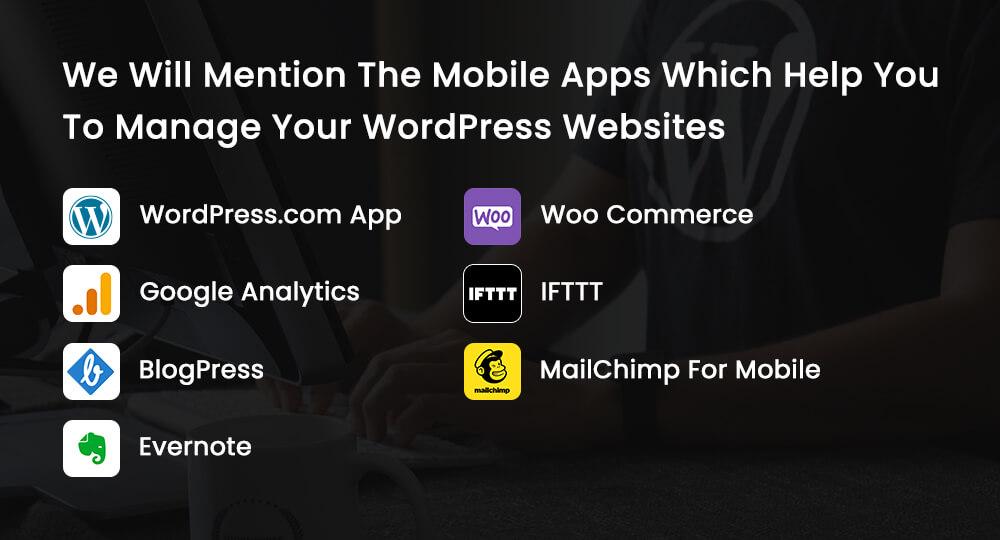 mobile apps to wordpress websites